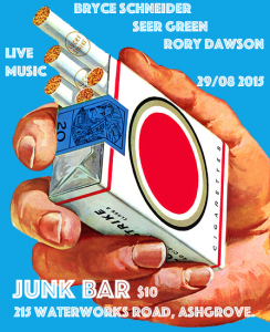 BRYCE SHNEIDER, SEER GREEN & RORY DAWSON at The Junk Bar