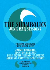 THE SHAMBOLICS and special guests. at The Junk Bar