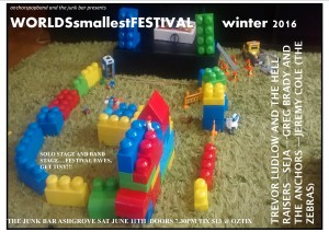 WORLD'S SMALLEST FESTIVAL NO 2 (WINTER) GET TINY! at The Junk Bar