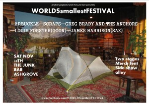 THE WORLD'S SMALLEST FESTIVAL at The Junk Bar